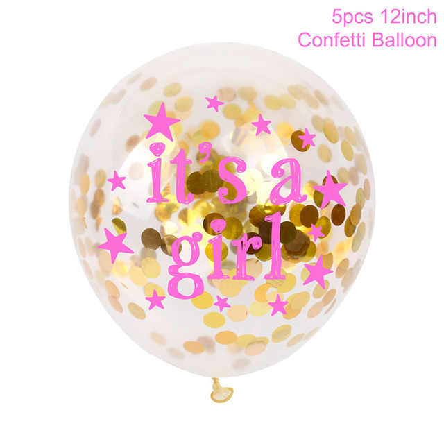 5 its a girl Balloon Presents for one year old boy 5c64f7ebefc29