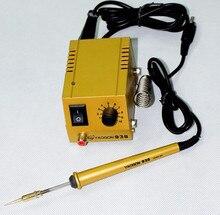 Обновление версии 938 мини паяльная станция быстрый нагрев паяльное постоянная температура Miniwatt сварка ремонт машины
