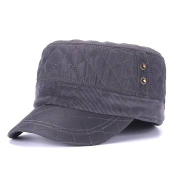 Male Ear Protection Autumn Military Hat ...