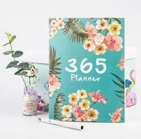 32 страниц A4 ежемесячный планировщик цветок рабочий ежедневник офис и школа записная книжка