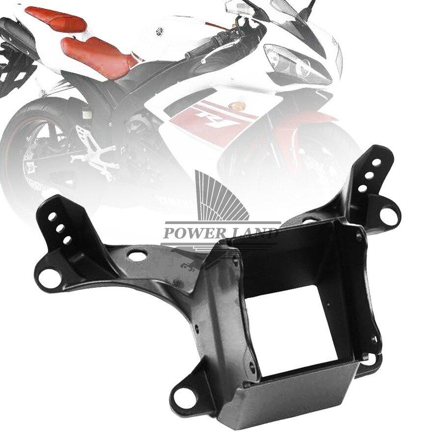 Support de phare de carénage de séjour supérieur noir pour Yamaha YZF R6s YZF-R6 2006-2007 Motocross Enduro Supermoto moto Dirt Bike
