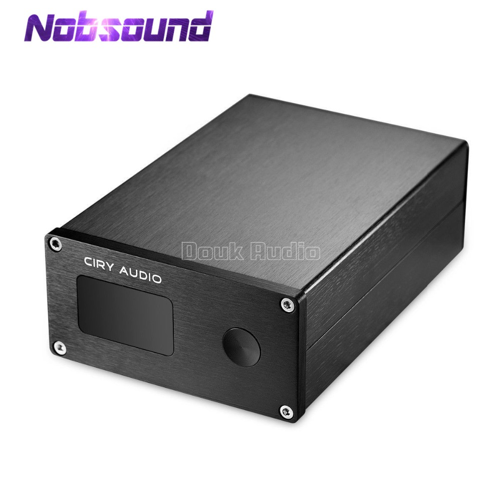 Nobsound HiFi PCM1794A+AK4118 DAC Audio Bluetooth Aptx Decode XMOS SPDIF OPT COAX AES Digital to Analog 24bit 192K