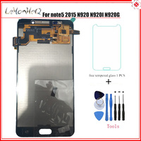 Test TFT LCD For Samsung Galaxy note 5 N920 N920G LCD Display Touch screen Digitizer Assembly For samsung note5 N920I N920A LCD