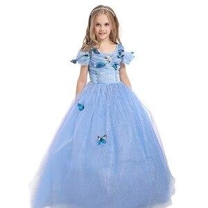 Image 2 - FINDPITAYA Bé Gái Công Chúa GrayGirl Trang Phục Bướm Trẻ Em Áo Đầm Dự Tiệc Hóa Trang Halloween Trẻ Em Thi Cosplay Giả Tưởng