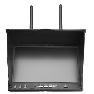 Image 3 - 5.8GHz 40 Channels 7 Inch LCD Screen Receiver Monitor With Build in Battery 5.8G Antenna For FPV Multicopter Drone Quadcopter