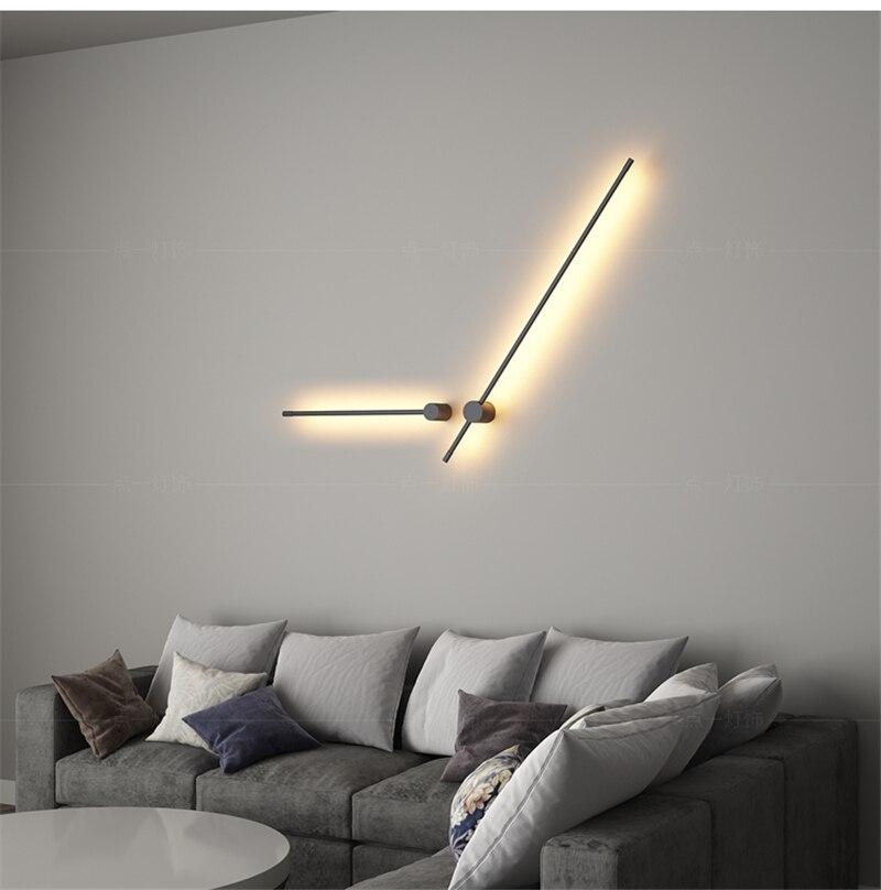 Criativo moderno simples conduziu a lâmpada de