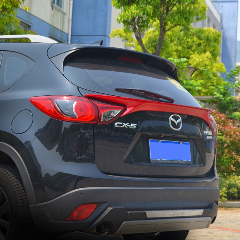 ABS Plastic Unpainted Primer Color Rear Wing Trunk Lip Spoiler Decoration For Mazda CX-5 CX5 2012 2013 2014 2015 2016 Spoiler цена 2017