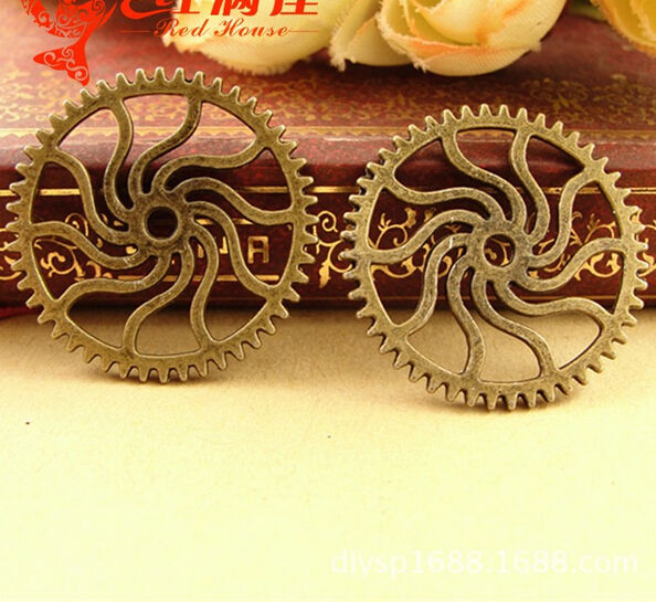 A3657 free shipping 60pcs/bag size 25*25mm HotWheels pendant charms Antique Alloy Jewelry finding for necklace charm