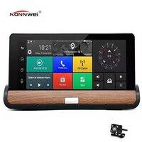 7 Inch Car GPS Navigation Navigators Automobile Bluetooth Dvr Dash Camera 3G Android 5 0 With