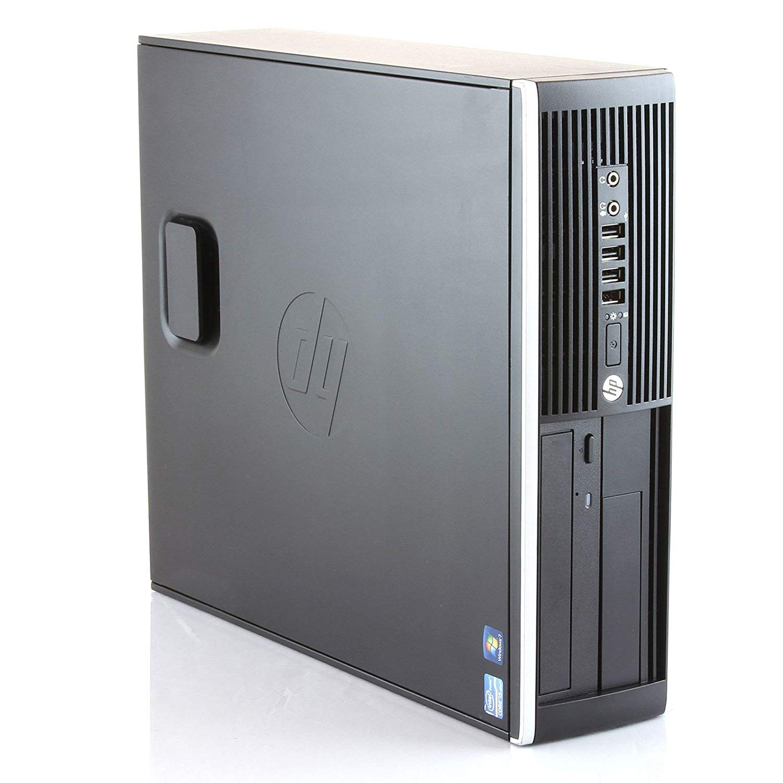 HP 8300-PC-Computer Desktop (Intel Core I7-3770, 16 Hard GB RAM, SSD 240 Hard GB, DVD, Grafica 2 Hard GB, WIFI, WIN 10 PRO