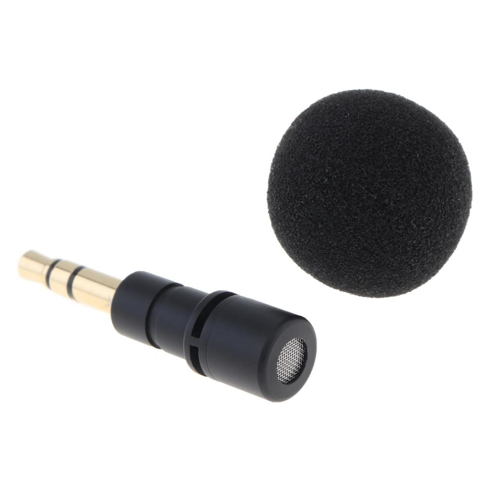3.5mm Jack Cellphone Smartphone Portable Mini Omni-Directional Mic Microphone