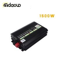 1500W Solar System Inverter DC TO AC Pure Sine Wave USB Output Car Power Inverter