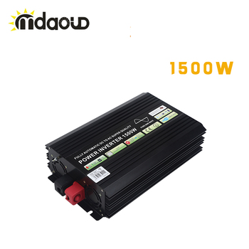 цена на 1500W/3000W PEAKING Solar System Inverter DC TO AC  Pure Sine Wave USB Output Car Power Inverter
