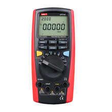 UNI-T UT71A Digital MultiMeter Ture RMS AC DC Meter Volt Ampere Ohm Capacitance Temp tester Ammeter Multimeter pocket multimete digital multimeter bm8300z pocket multimeter ampere volt ohm tester