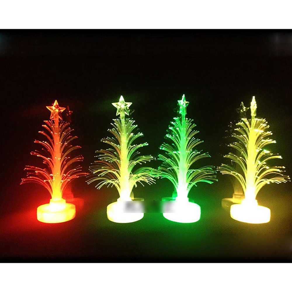 Merry LED Color Changing Mini Christmas Xmas Tree Home Table Party ...
