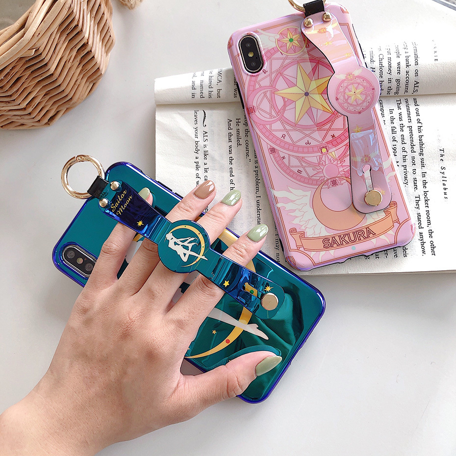 Sailor Moon Blue Pink iPhone Case This Metallic Touch Sailor Moon Blue Pink iPhone Case offers effective protection against scratches, falls and other wear and tear. Increasingly, covers are also becoming about making a fashion statement to set your Apple iPhone Series smartphone apart from others. The fun pop of pink and blue color adds some stylish character to an otherwise generic-looking mobile device. Shield the Apple iPhone Series from everyday dings and scratches with this custom product, which is designed to fit the device. The durable metallic finish enhances the appearance of your mobile device while keeping it safe from daily wear and tear.  Fits securely at all key pressure points to create a shockproof buffer in the event of an accidental drop or other spontaneous impact.