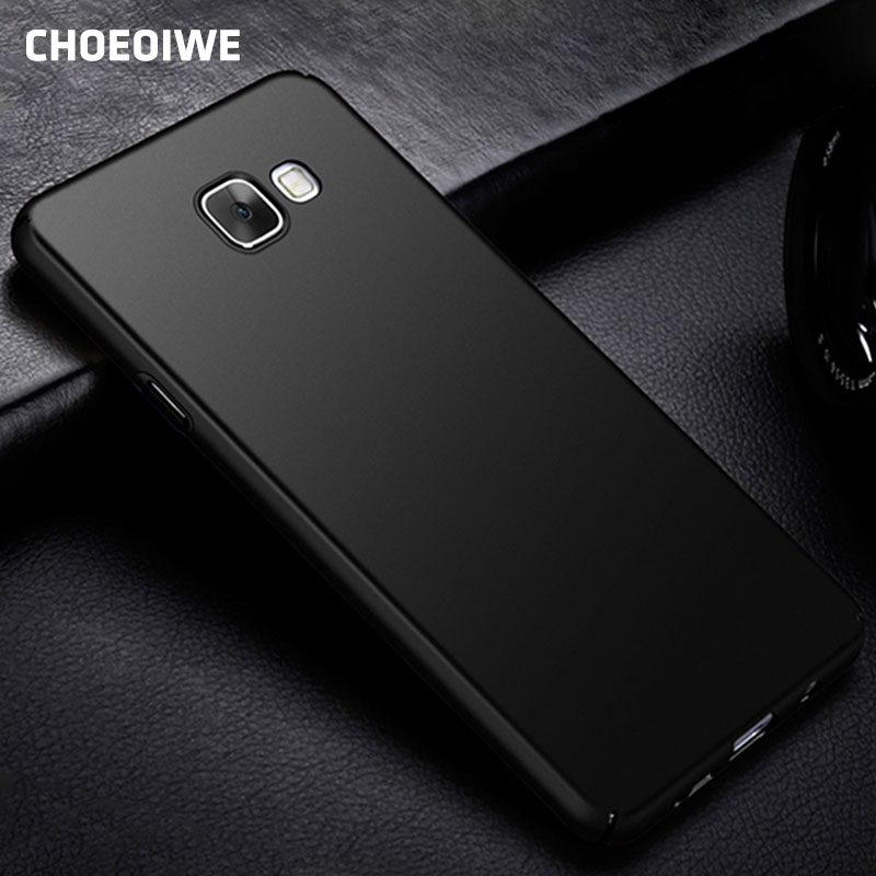 CHOEOIWE Matte Case for <font><b>Samsung</b></font> Galaxy A520 A5 2017 2018 A530 SM-<font><b>A530F</b></font> 2016 A510 A510F 2015 A500 A500F Hard PC Phone Cases <font><b>Cover</b></font> image