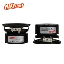 Ghxamp 2.5インチ66ミリメートルhifiフルレンジスピーカーユニット、高感度、人間の声、楽器音良い2個