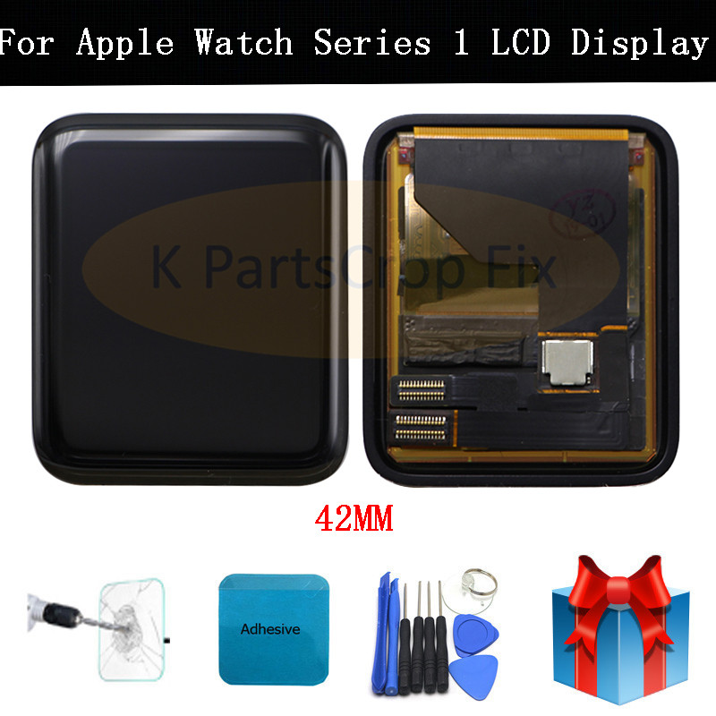 For Apple Watch Series 1 LCD Display Touch Screen Digitizer Assembly 38 42mm A1802 A1803 A1553