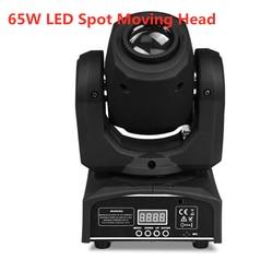 60W LED Spot Moving Head Licht 65W LED DJ Beam LED Spot Light met gobo & kleur wiel Disco Dj 'S Equipmentnt