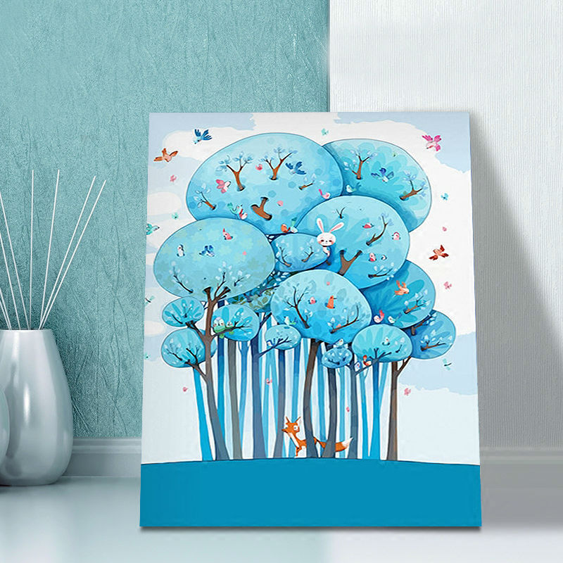 Online Shop coloring by numbers Dream modular painting cartoon ...