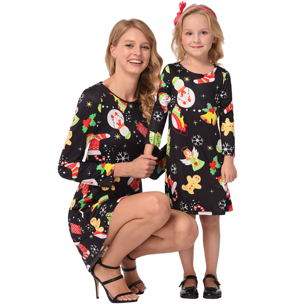 aliexpress  buy christmas mother daughter dresses