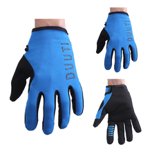 Anti-skid Cycling Gloves Touch Screen Gloves of Breathable Holes Full Finger Protective Gear Outdoor Cycling Equipment Men Women sahoo 42890 breathable touch screen full finger cycling gloves black blue xl pair