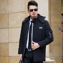 2016 Winter Long Thick Plus Size Wadded Fur Collar Winter Jackets Mens Parka Men Doudoune Homme Hiver Marque Winter Coat Men