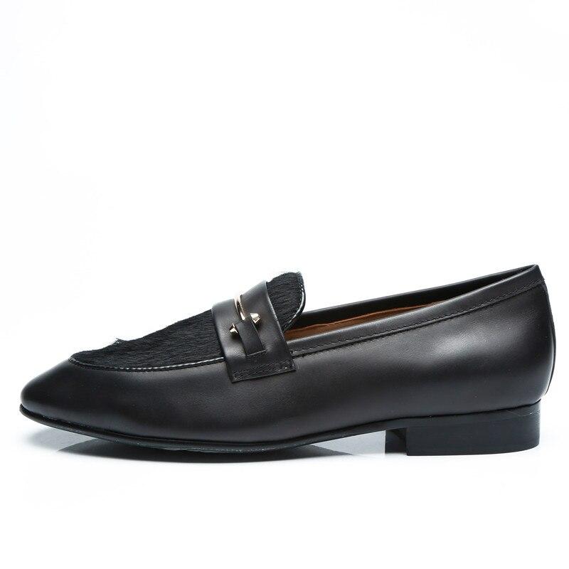Shoes Autumn Fashion Fur Slip