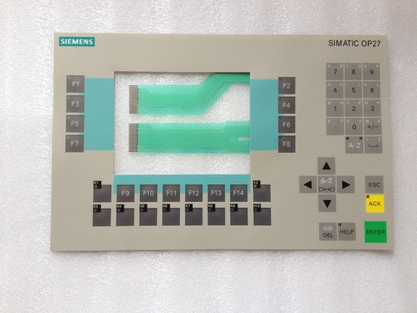 New Membrane keyboard 6AV3 627-5AB00-0AD0 for SIMATIC OP27 PANEL, 6AV3627-5AB00-0AD0 panel keypad ,simatic HMI keypad , IN STOCK 6av3607 5ca00 0ad0 for simatic hmi op7 keypad 6av3607 5ca00 0ad0 membrane switch simatic hmi keypad in stock