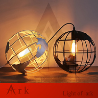 Modern Global Earth Shape Lustre Pendant Lights Living Room Pendant Lamps Restaurant Suspension Luminaire Home Lighting
