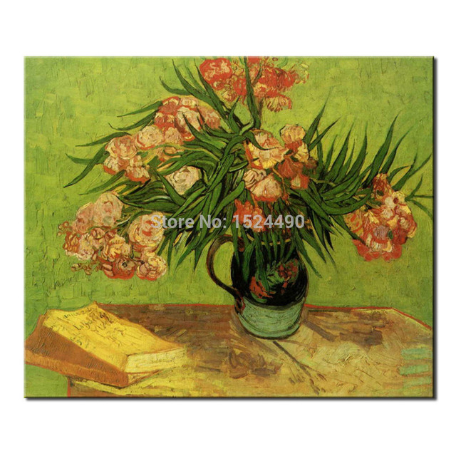 Vase Of Flowers Of Vincent Van Gogh Handmade Reproduction Oil