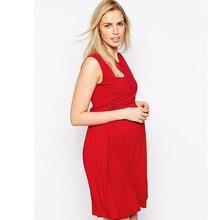 Tencel Breast Feeding Clothes for Pregnant Women Sleeveless Vest Wcloset Lady Business Dress Nursing Sashes Maternity Dresses
