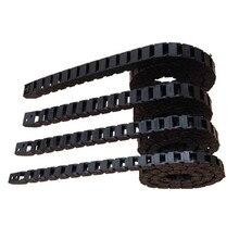 1 м трансмиссионные цепи 10x20 15x30 Пластиковые буксировочные цепные Кабельные перевозчики с концевыми соединителями фрезерные станки с ЧПУ Инструменты