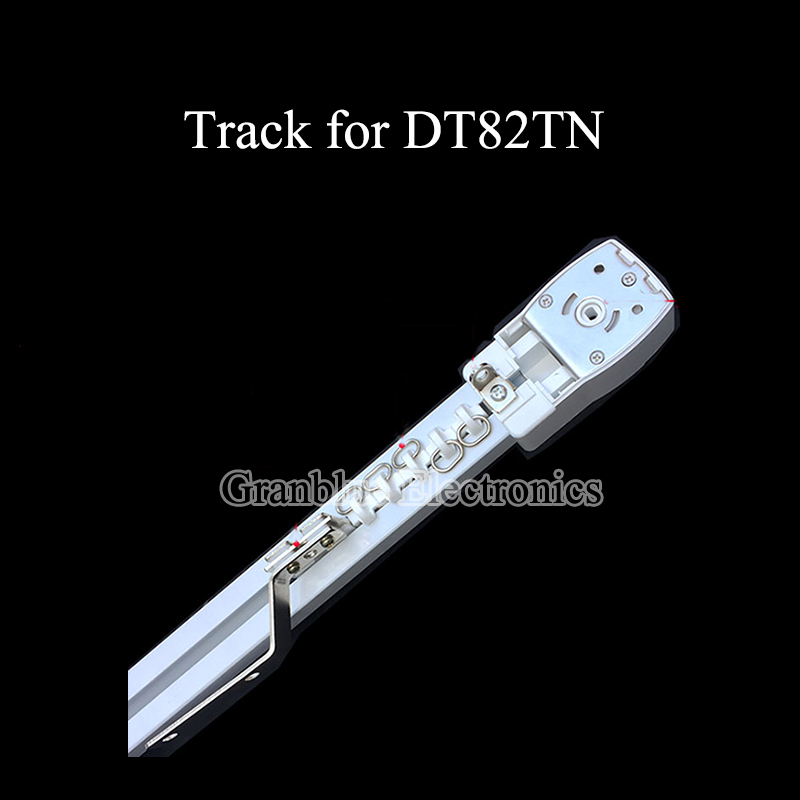 1M High Quality Customizable Electric Curtain Track For Remote Control Electrical Curtain Motor DT82TN Smart Home