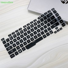 Silicone Laptop Keyboard Cover Protector Skin Voor Asus Rog Strix G G531 15 G531G G531GU G531GD G531GT G531GW 15.6 Inch notebook(China)