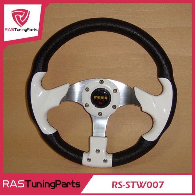 MOMO Racing Car Modification Steering Wheel PU Material  RS-STW007