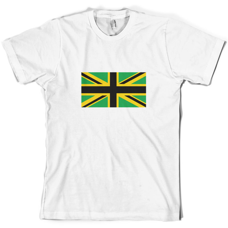 Jamaican Union Jack Mens T Shirt Jamaica Flag 10 Colours Free UK P amp PMans Unique Cotton Short Sleeves O Neck T Shirt in T Shirts from Men 39 s Clothing