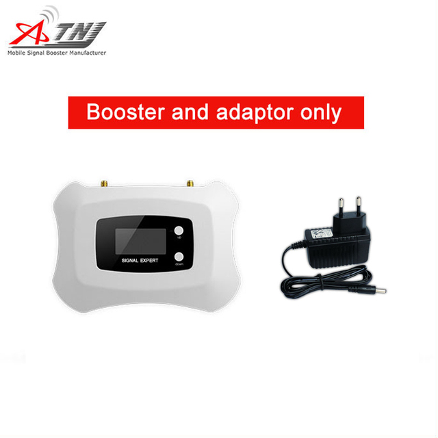 Smart 1800 mhz impulsionador de sinal móvel 2g 4g amplificador de telefone celular 2g4g repetidor de sinal só impulsionador + adaptador
