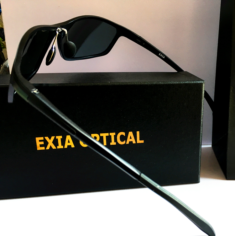 Male Sunglasses Custom Optical Lenses for Myopia Fashion Spectacle EXIA OPTICAL KD-337 Series