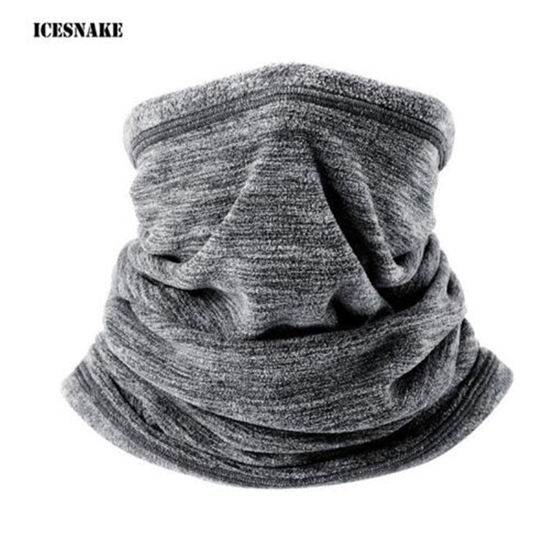ICESNAKE Motorcycle Face Mask Winter Windproof Moto Balaclava Motorcycle Outdoors Sports Motorbike Neck Warmer ymsaid latest hot selling multi functional knit cap balaclava mask winter wool hats adult men and women neck warmer thick it tak
