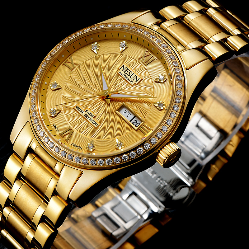 Swiss Brand NESUN Men's Watch Automatic Self-winding 1