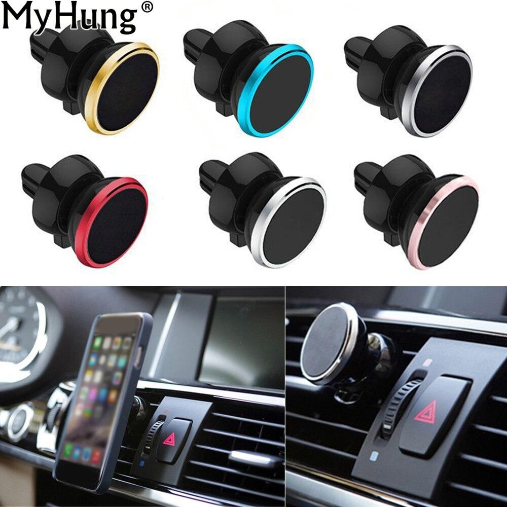 GPS навигация Автомобильный держатель Маунта сброса воздуха автомобиля мобильного телефона держатель кронштейна для iPhone 6 5С 7 ЮВ автомобиль для укладки Автоматический аксессуары 1 шт.
