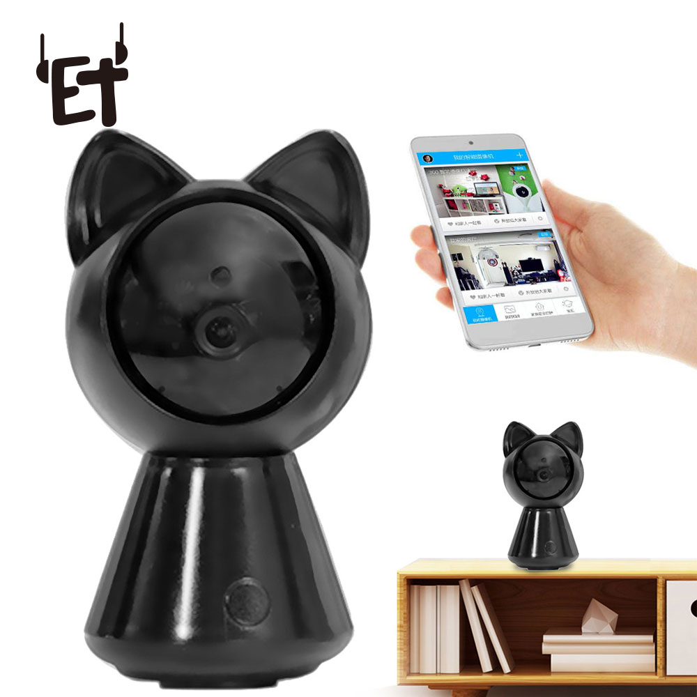 ET Safety-Monitor Ip-Camera Wifi With Alarm Messages Sending For Smartphone PC Tablet