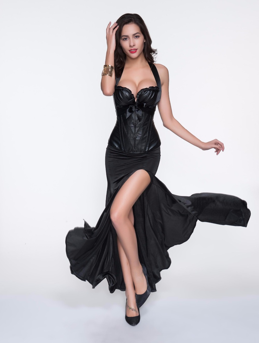 moonight women u0026 39 s sexy maxi split skirts long vintage skirt fashion satin high waist evening