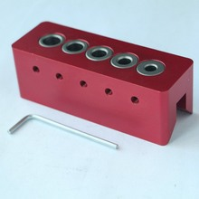 Woodworking 90 Degree Angle Drill Guide Doweling Jig Hole Puncher Locator 6/7/8/9/10mm Drill Bit Carpentry Pocket Hole Jig Set стоимость