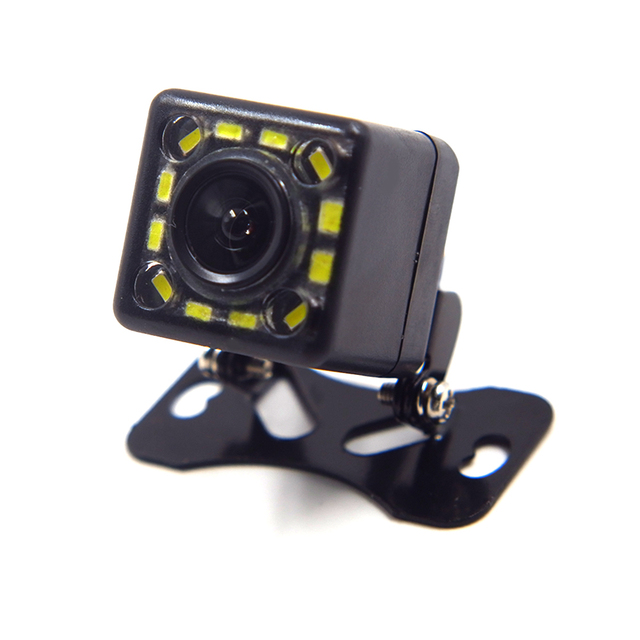 Universal Car Rear View Camera 12 LED Night Vision Reversing Auto Parking Assistance Monitor CCD Waterproof Wide Degree HD Video 5