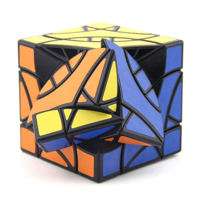 DaYan Perruche BiYiNiao 12-axe 3-rang Magie Cube Noir Stickerless Étrange Forme Cube Jouets Pour Enfants - 3