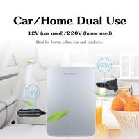 20L 12V/220V 56W Portable Mini Refrigerator Car Camping Home Fridge Cooler & Warmer Single Core Good Heat Dissipation Low Noise