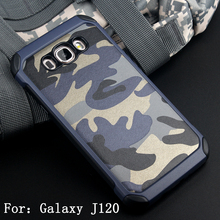 Anti-knock Hybrid 2 in 1 Combo Armor Impact Camouflage Military Pattern Phone cover Case For Samsung Galaxy J1(2016) J120F J16